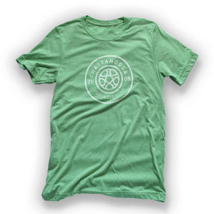 Antiqued Logo T-Shirt (Green Tri-Blend)