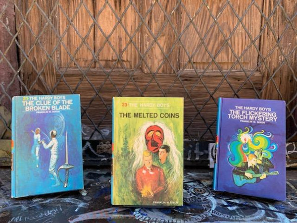Hardy Boys Books (Set of 3)