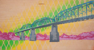 Walnut Street Bridge - by Michael Jenkins