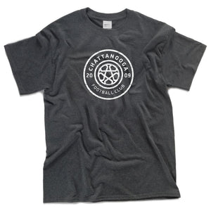 Antiqued Logo T-shirt (Gray)