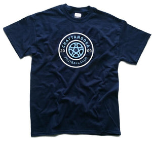 Tricolor Logo T-Shirt (Navy)