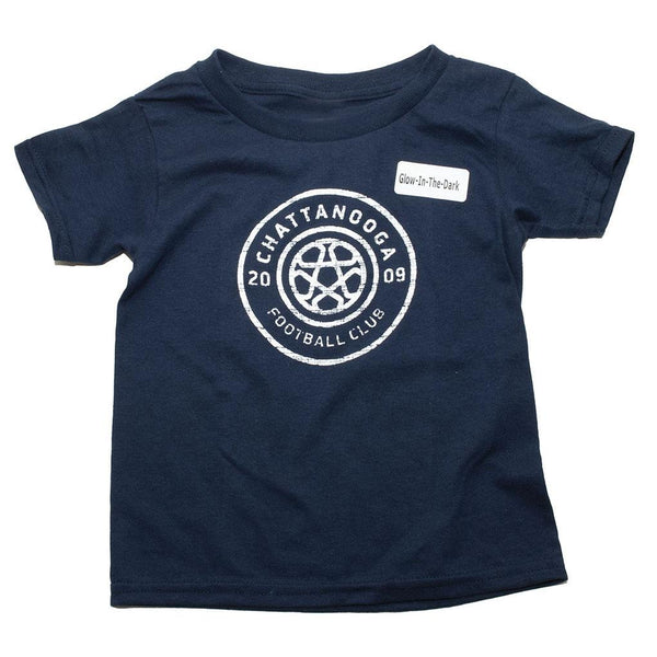 Glow In The Dark Toddler T-Shirt (Navy)