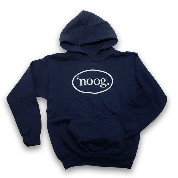 Noog Oval Pullover Hoodie - Navy - Youth