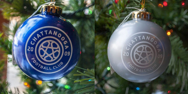 Christmas Ornaments (Blue or Silver)