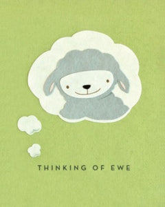 Thinking of Ewe Greeting Card