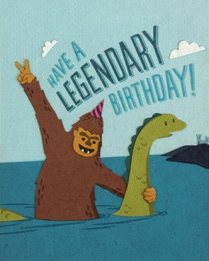 Legendary Birthday Greeting Card