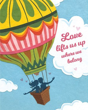 Love Lifts us Up Greeting Card