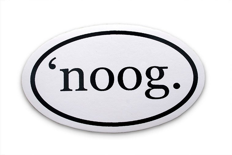 'noog Sticker