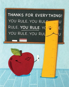 You Rule Greeting Card