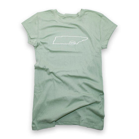 SALE - Tennessee State - Leaf Green - Women