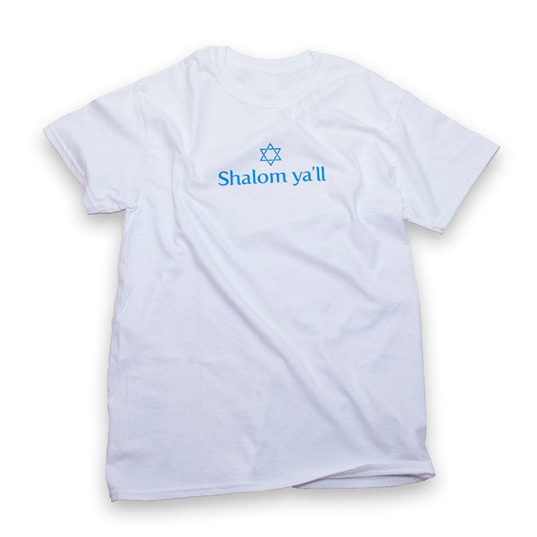 SALE - Shalom Y'all - White