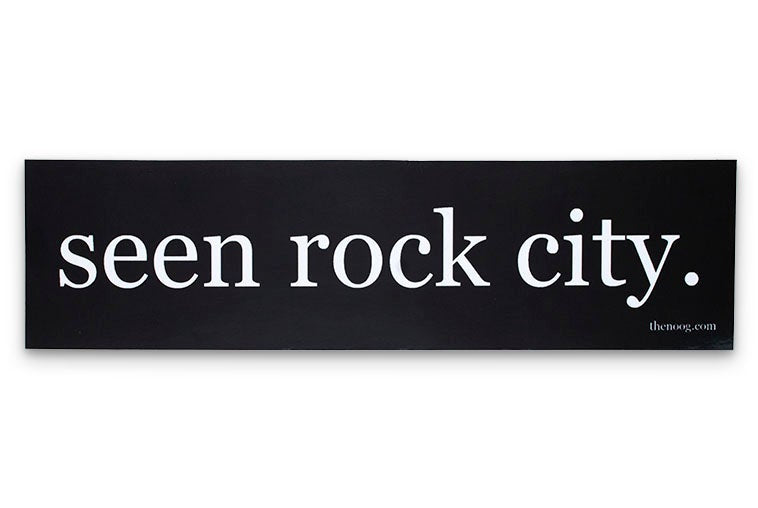 Seen Rock City Sticker