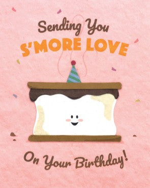 S'More Love Birthday Greeting Card