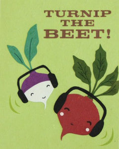 Turnip the Beet Greeting Card