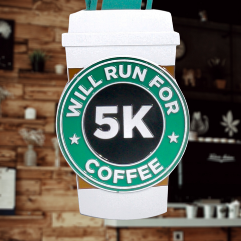 WIll Run For Coffee 5K - VirtualRun