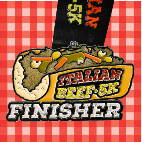 Image of Italian Beef 5K Finisher | VirtualRun