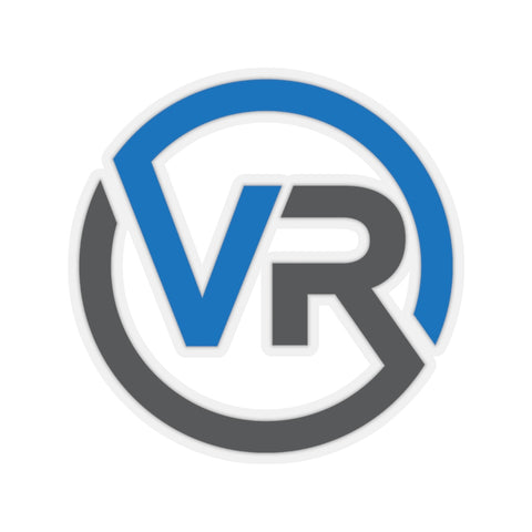 Image of Virtual Run Icon Stickers - VirtualRun.com - Paper products