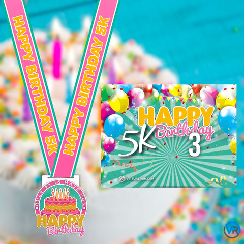 Image of Happy Birthday 5k! - VirtualRun