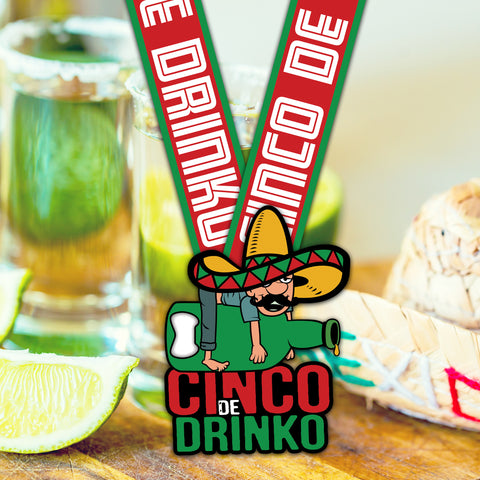 Image of Cinco De Drinko! - VirtualRun