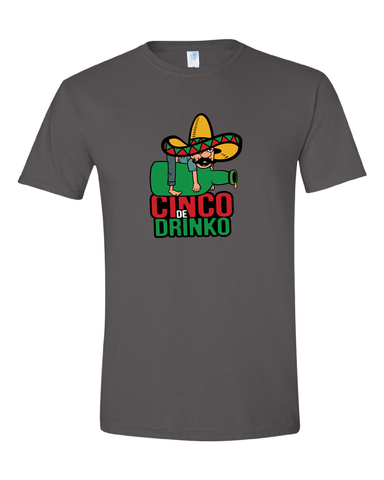 Cinco De Drinko Event Shirt