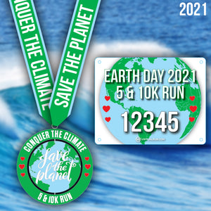 Conquer the Climate 5k and 10k run.