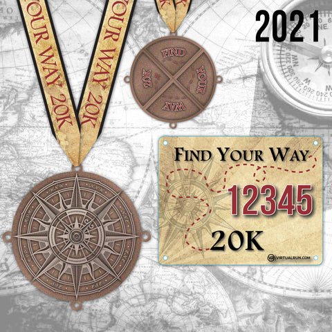 Find Your Way 20k! Run #3