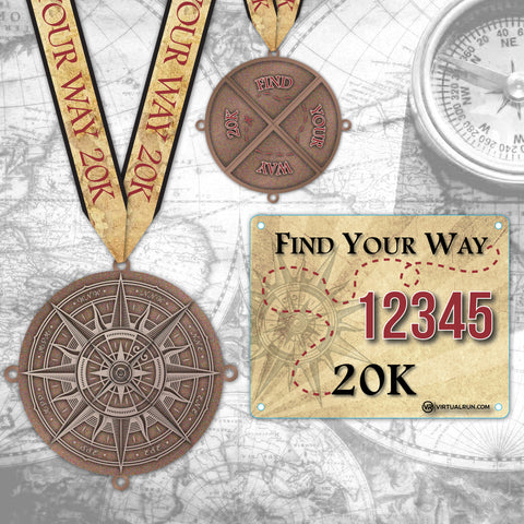 Find Your Way 20k! Run #4