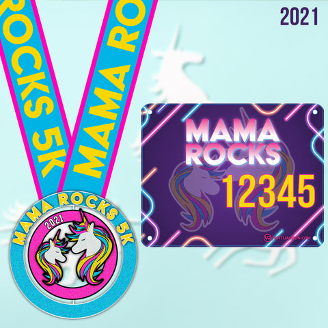 Image of Mama Rocks 5k! - VirtualRun