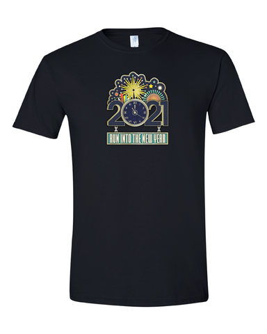 2021 New Year Run Event Shirt
