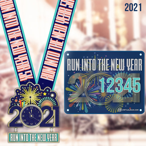 New Year 2021 Run! - VirtualRun