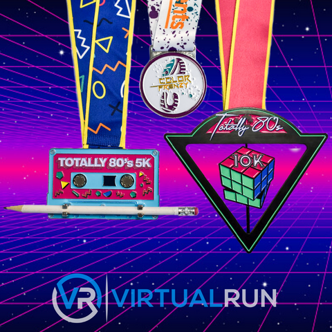 Totally 80's Three Medal Package - Save Big!