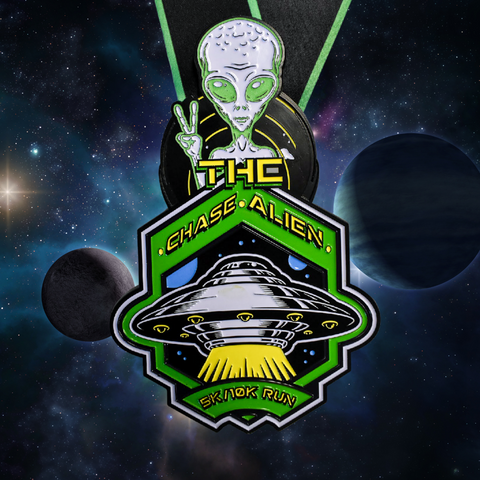 Image of chase the alien 5k virtual run - virtualrun.com