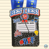 Besties 5K, fun 5K, BFF 5K, Virtual Run, 5K, 10K,