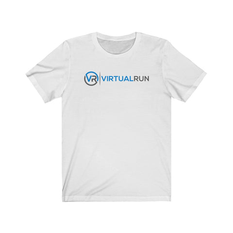 Virtual Run Logo Unisex Jersey Tee