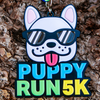 Puppy Run 5K Medal - Limited Edition