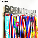 Born To Run Medal Display Rack