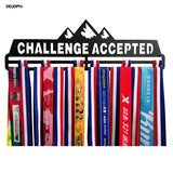 Challenge Accepted Medal Display Rack