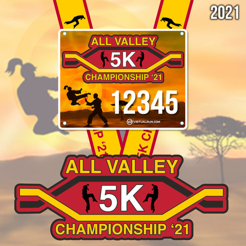 Image of All Valley Karate Championship 5k!