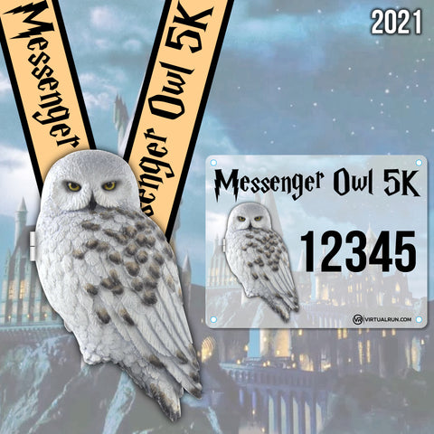 Image of Messenger Owl 5k!