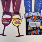 The Best Friends Package - Two Medals For Two BFFs