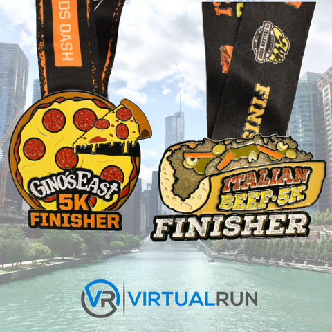The Chicago 5K Package - Two Medal Set
