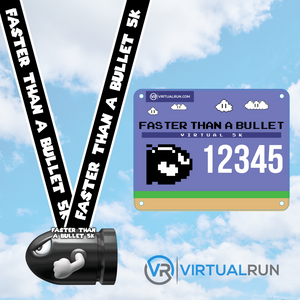 The Video Game Package - Four Medal Set - VirtualRun