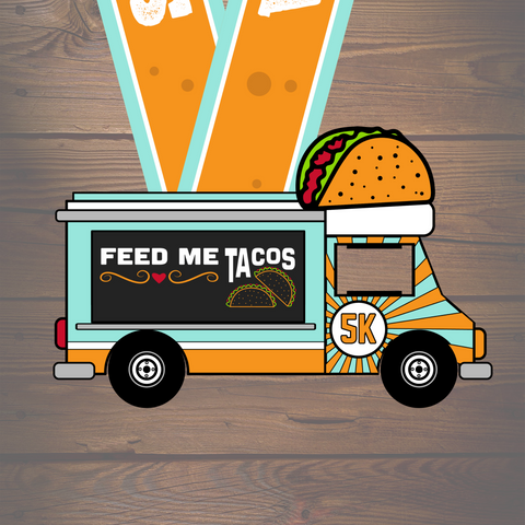 Feed Me Tacos 5K - Collector's Edition - VirtualRun