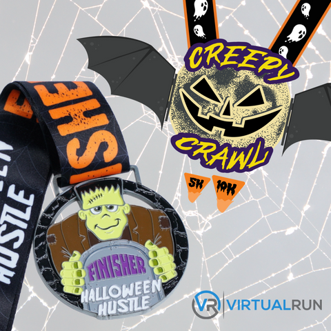 The Halloween Package - Two Medal Package - VirtualRun