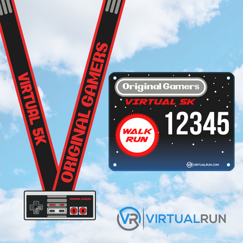 Image of Original Gamers 5K - Collector's Edition - VirtualRun