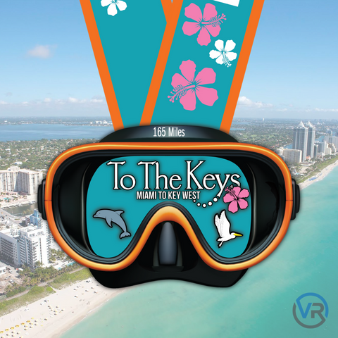 "To The Keys - 165 Miles [5"" Medal""]"