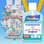 Two finisher medal discount package of Social Distance 1K 5K 10K and COVID Stoppers 5K and 10K