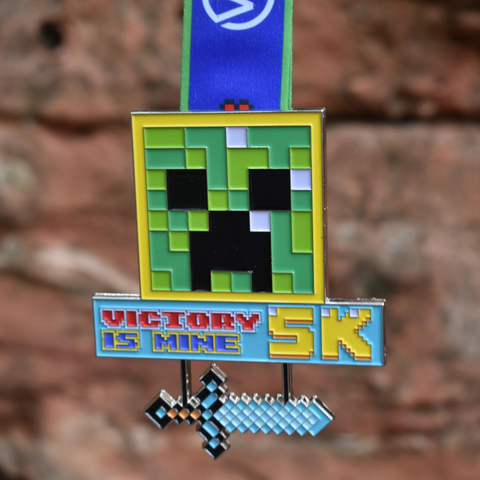 Victory Is Mine 5K - For Video Game Lovers - VirtualRun