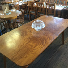 Load image into Gallery viewer, Vintage Maple Veneer 8 Seater Table