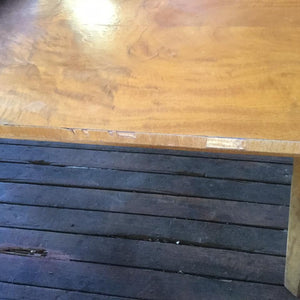 Vintage Maple Veneer 8 Seater Table